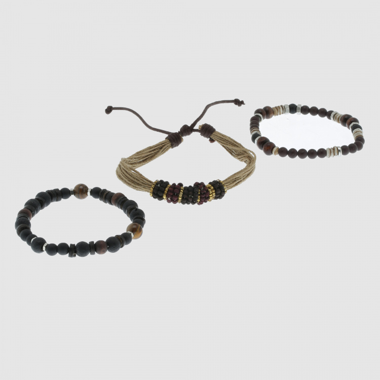 Beaded Bracelet - Set of 3