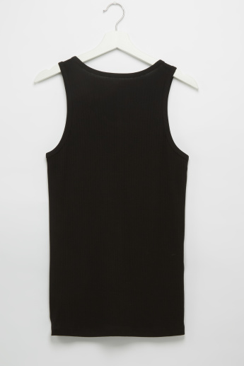 Set of 2 - Plain Vest with Scoop Neck