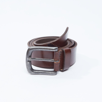 Plain Belt with Pin Buckle