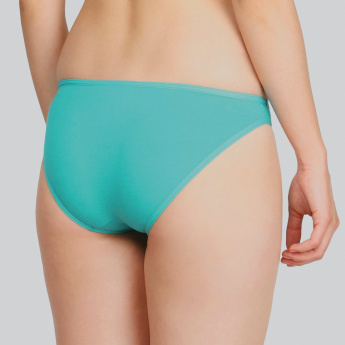Jockey Plain Bikini Briefs with Elasticised Waistband