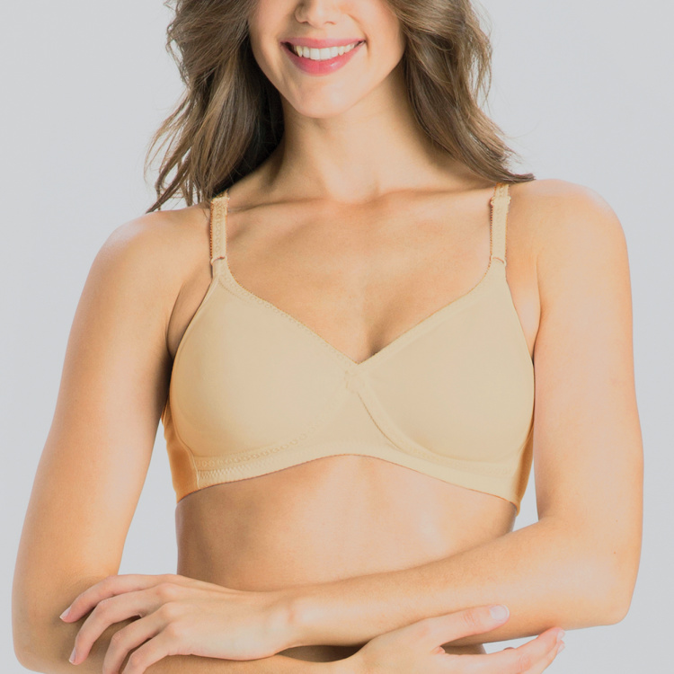 Jockey Plain Basic Bra with Hook and Eye Closure