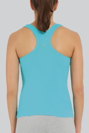 Jockey Plain Vest with Scoop Neck and Racerback