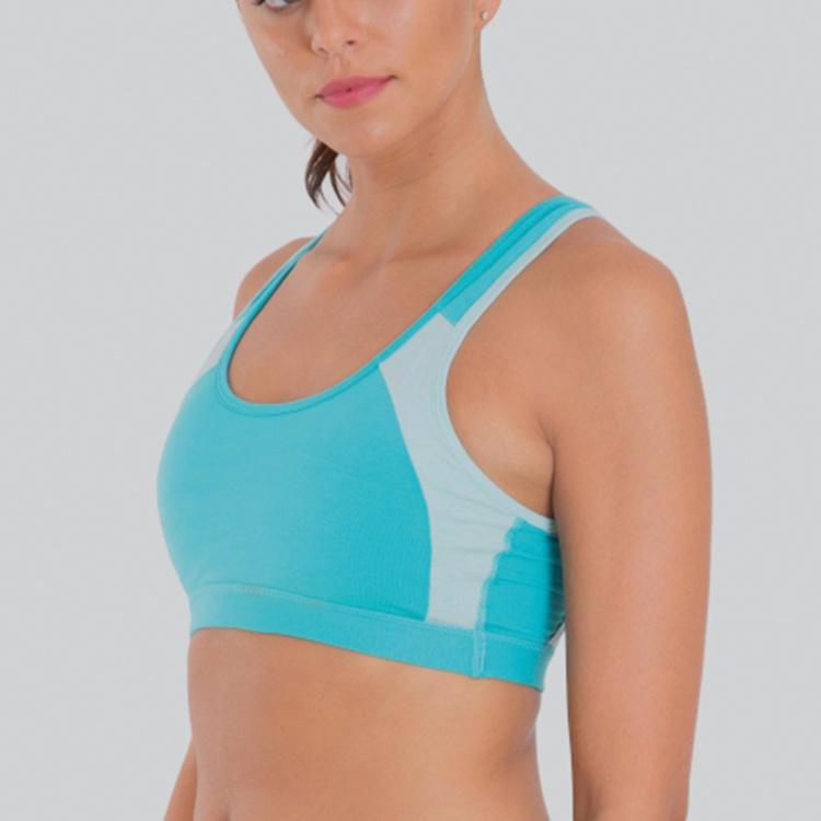 Jockey Sports Bra with Scoop Neck and Racerback