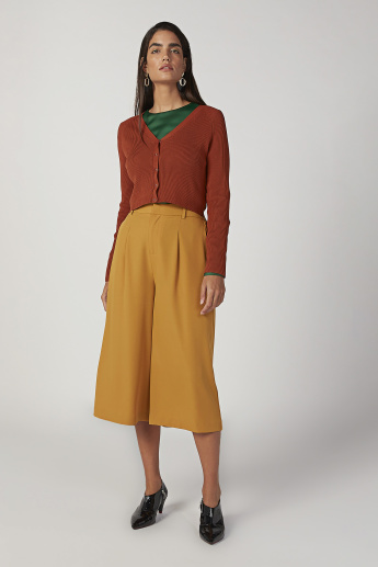 Sustainable Plain Top with Round Neck and Bishop Sleeves