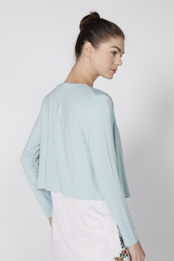 Full Sleeve Bolero with Open Front