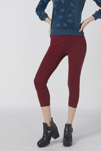 3/4 Leggings with Elasticised Waistband