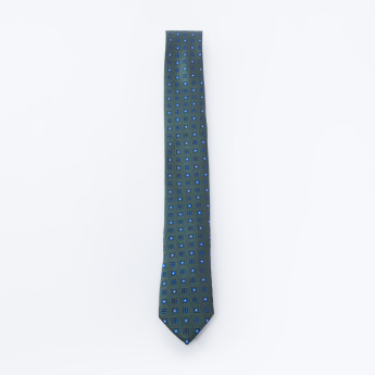 Textured Tie with Keeper Loop
