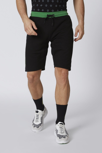 Expo 2020 Plain Shorts with Pocket Detail and Drawstring