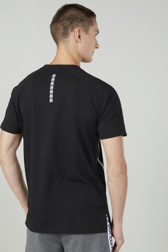 Expo 2020 Printed T-shirt with Round Neck and Short Sleeves