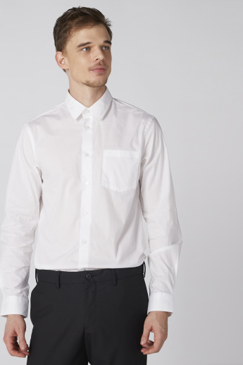 Arrow Long Sleeves Shirt with Chest Pocket and Complete Placket