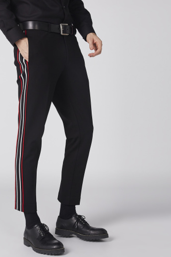 Full Length Trousers with Pocket and Tape Detail