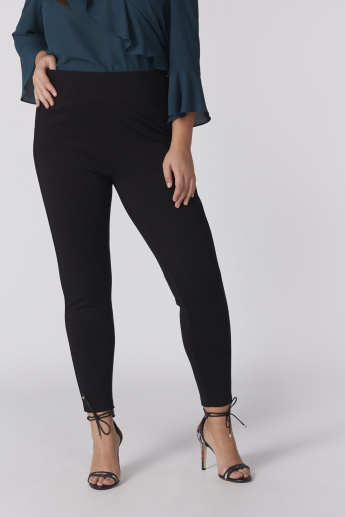 Full Length Pants with Zip Closure