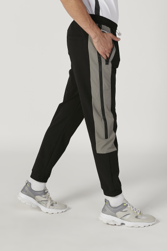 Striped Flexi Waist Jog Pants with Elasticised Waistband