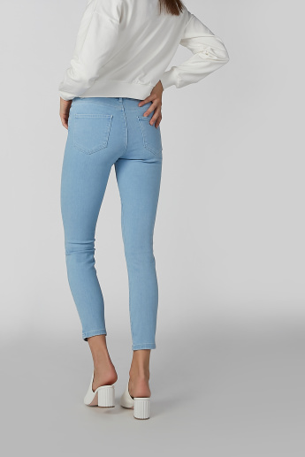 Koton Plain Jeans with Pocket Detail and Belt Loops