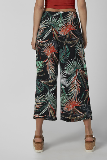 Koton Printed Palazzo with Pocket Detail