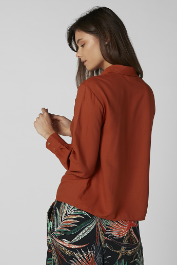 Koton Plain Top with Metallic Detail