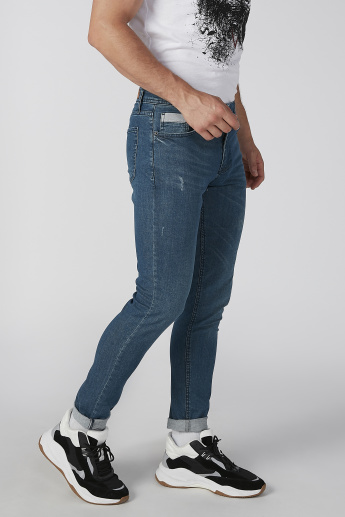 Koton Distressed Jeans with Pocket Detail
