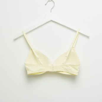 Set of 2 - Padded T-shirt Bra with Hook and Eye Closure