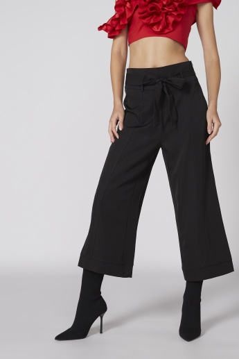 Culotte Pants with Tie Up