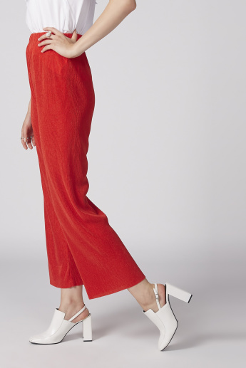 Textured Culottes with Elasticised Waistband