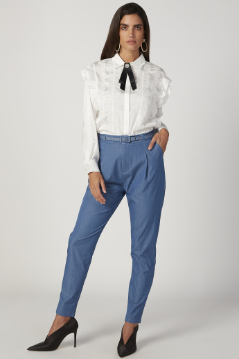 2Xtremz Solid Trousers with 4-Pockets