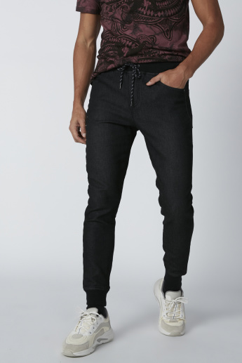 Lee Cooper Pocket Detail Jog Pants with Drawstring