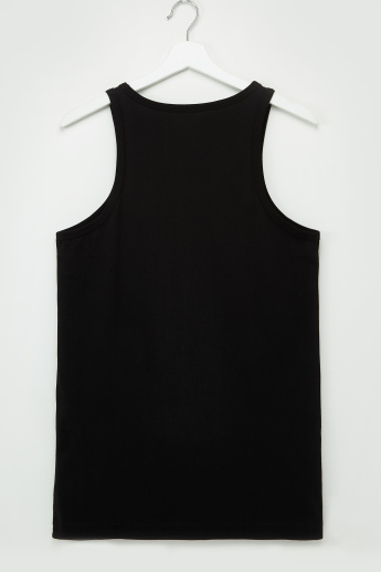 Set of 3 - Solid Vest with Scoop Neck