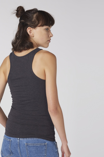 Scoop Neck Vest with Racerback