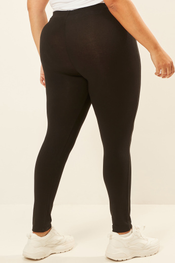 Full Length Leggings with Elasticated Waistband