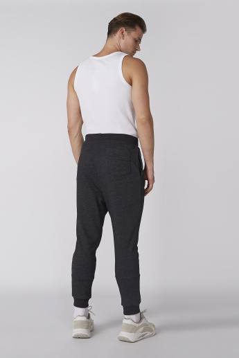 Textured Jog Pants with Pocket Detail