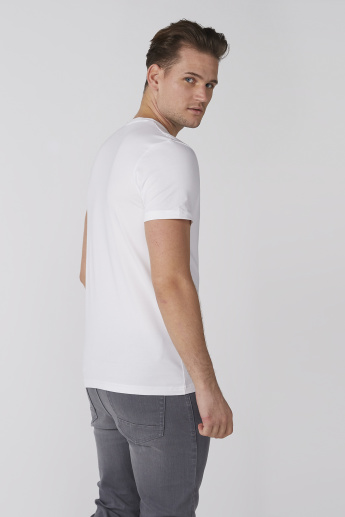 Lee Cooper Crew Neck T-Shirt with Short Sleeves
