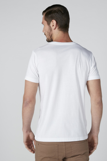Set of 3 - Solid T-shirt with V-Neck