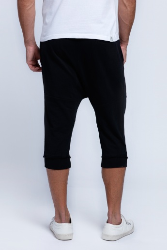 Being Human Printed 3/4 Pants with Pocket Detail