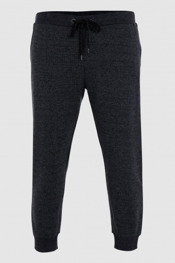 Full Length Jog Pants with Ribbed Cuffs