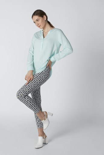 Printed Leggings in Skinny Fit with Elasticised Waistband
