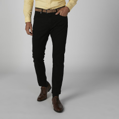 Sustainability Slim Fit Plain Chinos with Pocket Detail